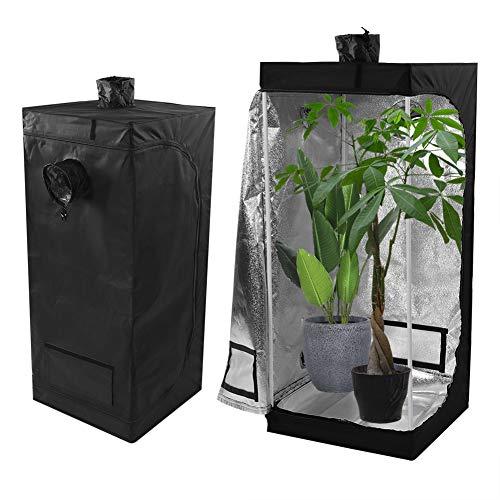 Yagosodee Tienda de cultivo hidropónica, para interior y habitación oscura, portátil, Oxford