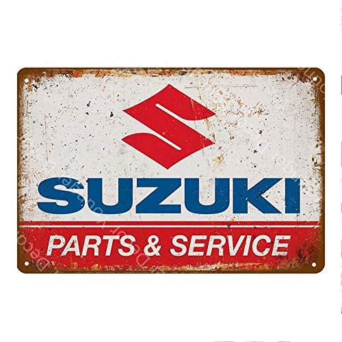 Busirde 3D Motorcycle Placage Emblem Badge Decal r/éservoir Roue Logo S Autocollant de Protection Couverture Paster pour Suzuki Argent