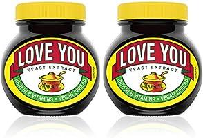 Marmite Gepersonaliseerde Gist Extract Potje Vegan Spread 250g, 2 Pack