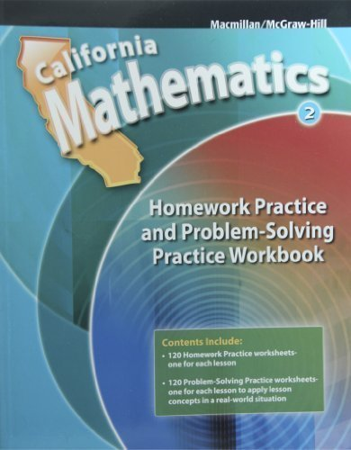 Homework Practice and Problem Solving Practice Workbook Grade 2 (California Mathematics)