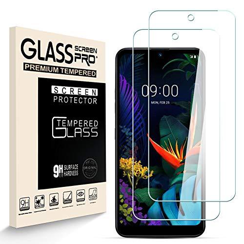 HJX Panzerglas Schutzfolie für LGK50, 9H-Härte Tempered Glass, Anti-Kratzer, Blasenfrei, Einfache Installation, Anti-Fingerabdruck Displayschutzfolie für LGK50 [2 Stück]