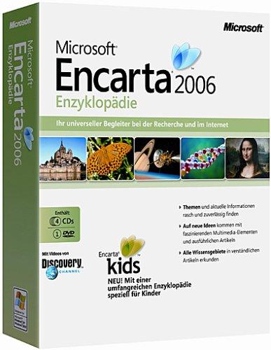 Microsoft Encarta Enzyklopädie 2006 (DVD-ROM + CD-ROM)