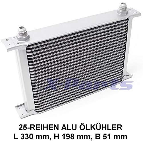 Ölkühler 25 Reihen Öl-Kühler Alu Kühlung Oil Cooler VR6 R32 16V G60Turbo Zlet