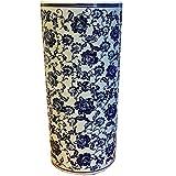 Minster Giftware Blu e Bianco flower ceramica portaombrelli