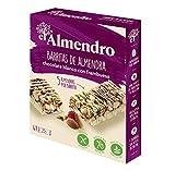 L'Ametller - Barretes d'Ametlla, Xocolate blanc i Fruits Vermells - *4x25 *gr - Sense Glútens - Sense Oli de Palma - Font de Fibra