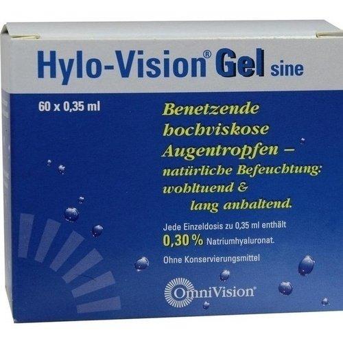 HYLO-VISION Gel sine Einzeldosispipetten 60X0,35 ml