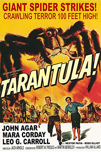 American Gift Services - Vintage Science Fiction Horror Movie Poster Tarantula - 24x36