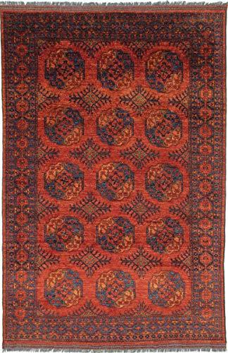 Nain Trading Afghan Ersari 304x204 Orientteppich Teppich Rot Handgeknüpft Afghanistan