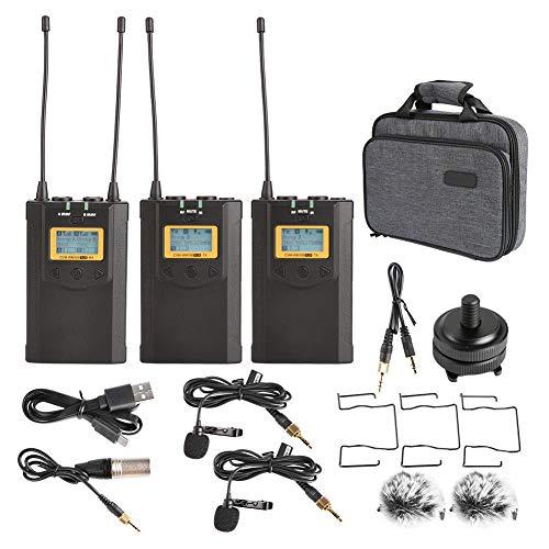 petit un compact Récepteur de microphone sans fil Bigking, kit de récepteur d'émetteur de système de microphone…