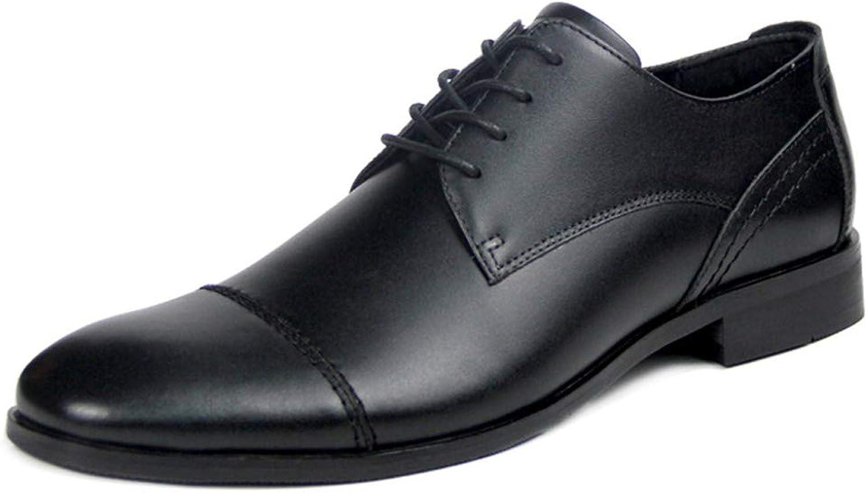 Men's Dress shoes, British Business shoes Men's Leather Genuine Leather shoes Men's shoes