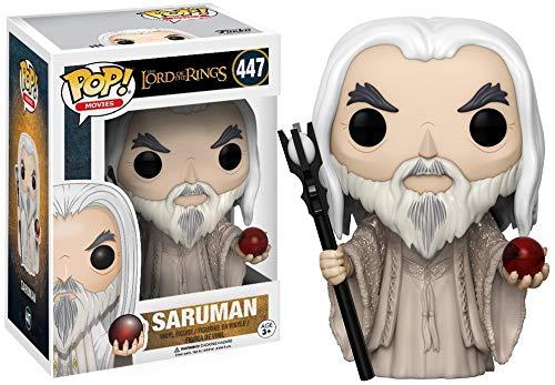 Funko - Pop! Vinilo Colección El señor de los Anillos - Figura Saruman (13555)