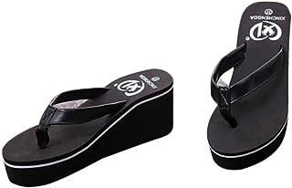 Sandalias y Chancletas de Plataforma para Mujer, QinMM Playa Zapatos de Verano