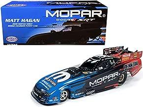 Auto World 2019 Mopar NHRA Dodge Charger Funny Car Matt Hagan 1/24 Diecast Model Car CP7554