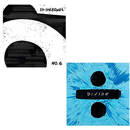 No. 6 Collaborations Project - ÷ (Divide) - Ed Sheeran Greatest Hits 2 CD Album Bundling