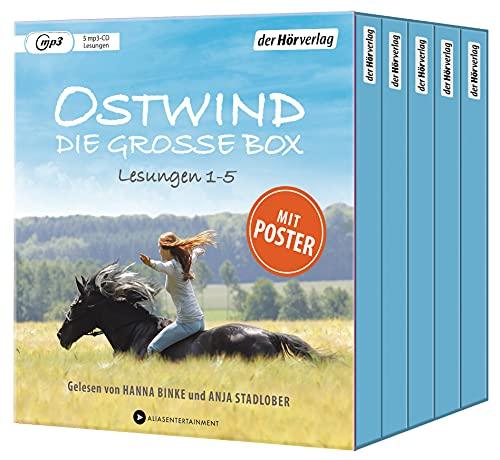 Ostwind. Die große Box: Die Lesungen 1-5 (Die Ostwind-Hörbuch-Sammeleditionen, Band 1)