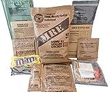Militar US Army MRE Nato Relación de Alimentos de Emergencia Combate Supervivencia Camping Comida Menú 1-24, 14 Creamy Spinach Fettuccine