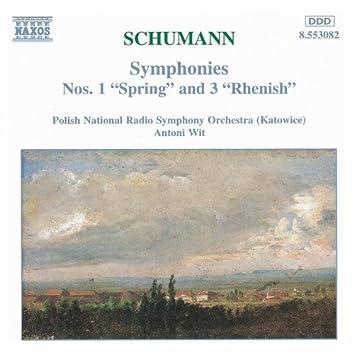 SCHUMANN, R.: Symphonies Nos. 1 and 3