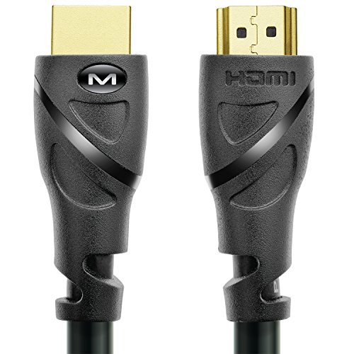 Mediabridge HDMI Cable (6 Feet) Supports 4K@60Hz, High Speed, Hand-Tested, HDMI 2.0 Ready - UHD, 18Gbps, Audio Return Channel