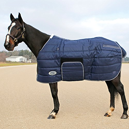 Country Pride Squall 1200D Heavyweight Bellyband Stable Blanket, Sz 70
