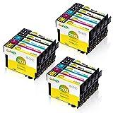 Gohepi 15 Multipack 29XL Alta Capacidad Cartuchos de tinta Compatible para Epson 29 con Epson Expression Home XP-432 XP-435 XP-442 XP-445 XP-452 XP-235 XP-245 XP-247 XP-342 XP-345 XP-352 XP-355
