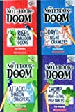 The Notebook of Doom Pack Set of 4 Books, The Notebook of Doom #1: Rise of the Balloon Goons, The Notebook of Doom #2: Day of the Night Crawlers, The Notebook of Doom #3: Attack of the Shadow Smashers, #4: Chomp of the Meat-Eating Vegetables
