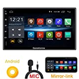 Ezonetronics Android 6 8 Car Radio Stereo 7 inch Capacitive Touch Screen High Definition 1024x600 GPS Navigation USB SD Player 1G DDR3 + 16G NAND Memory Flash CT009L