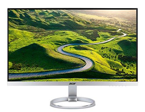 Acer H277HK 69 cm (27 Zoll Ultra HD IPS) Monitor (USB 3.1 Type-C, DisplayPort, HDMI 2.0, 4 ms Reaktionszeit, AMD FreeSync, ZeroFrame) silber