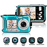Appareil Photo Etanche sous Marin Caméscope 1080P FHD 24 MP Améra Vidéo Numérique...