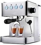 Jsmhh Kaffeemaschinen New Commercial Haupthaushaltsespressomaschine Vollhalbautomatische Dampf...