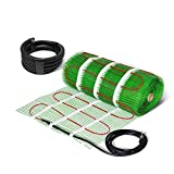 Electric Underfloor Heating Mat Self Adhesive KIT 200W/m2 - Lifetime Guarantee! (3.0m2, no Thermostat)