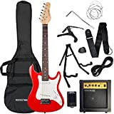 3rd Avenue Rocket Series 3/4 Electric Guitar Pack - Red
