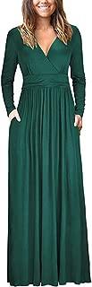 long sleeve spring maxi dress
