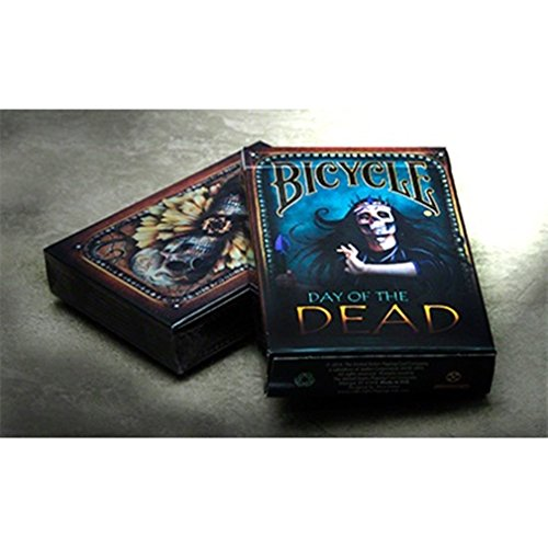 Jeu 54 cartes Format Poker - Jeu Bicycle Day of the Dead