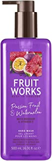 Fruit Works Passionfruit & Watermelon Cruelty Free & Vegan Hand Wash With Natural Extracts 1x 500ml