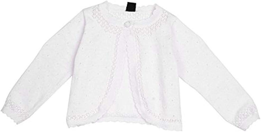 Agoky Kids Girls Long Sleeve Lace Closure Shr Super sale period limited Knit Max 90% OFF Flower Bolero