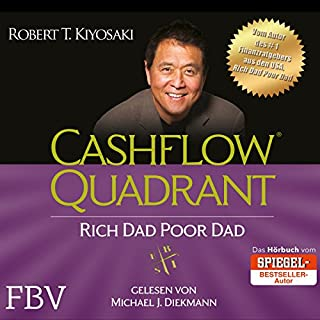 Cashflow Quadrant: Rich Dad Poor Dad audiobook cover art