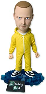 Mezco Breaking Bad Bobblehead Jesse Pinkman Yellow Hazmat