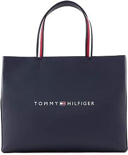 Tommy Hilfiger Women's Shopper Tote Bag, Blue - AW0AW08418