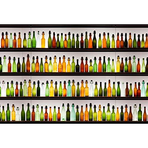 Glass Wine Bottle Art Puzzle 500/1000/1500/2000/3000/4000/5000/6000 stuks Home Decoration houten puzzel, Educatief speelgoed spel voor volwassenen en kinderen,3000PCS