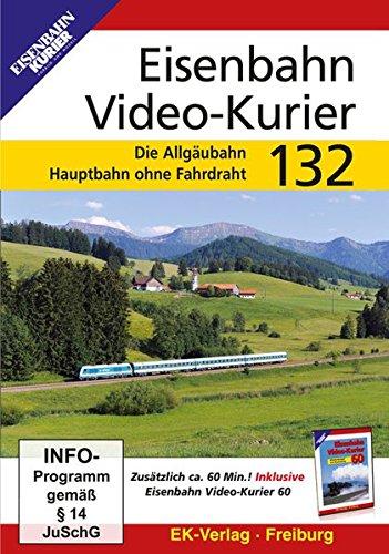 Eisenbahn Video-Kurier 132 - Die Allgäubahn/Hauptbahn ohne Fahrdraht