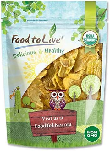 Organic Yacon Slices 1 Pound Non GMO Raw Vegan Kosher Bulk High in Vitamin A Great Snack Crisp product image