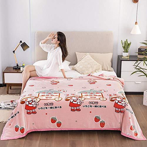 Double layer Blanket Fleece,Cloud mink wool blanket Fala wool blanket, Nordic style office warmth blanket-A07_230*250cm