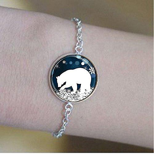 stahpk Polar Bear bracelets,Polar Bear bracelets,Polar Bear Jewelry Gift