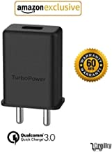 Croiky Micro USB Turbo Power 3.0 Ampere 25 W Mobile Adapter - Black (Adapter only)