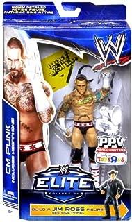 Mattel, WWE, Elite Collection, Exclusive Action Figure CM Punk (Build A Jim Ross Figure)