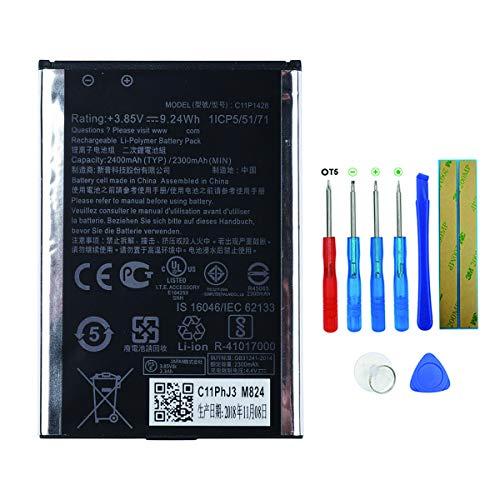 Swark accu C11P1428 compatibel met ASUS Zenfone 2 Laser ZE601KL ZE550KL ZD551KL met gereedschap