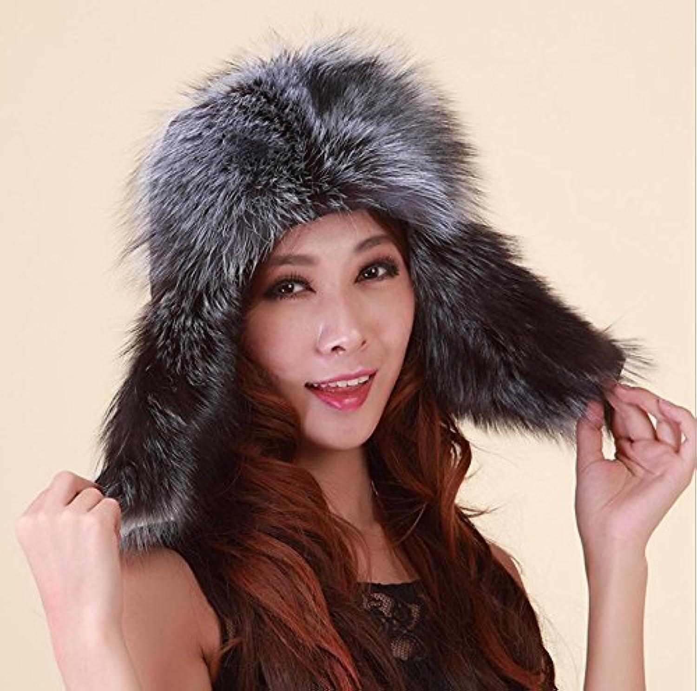 Faddish Ushanka Winter Warm Thickening Windproof Outdoor Hat for Ladies