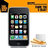 iPhone 3GS Screen Protector, [4 pack] Premium Protective [Ultra Crystal Clear]High Definition Screen Protector for Apple iPhone 3GS