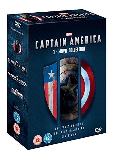 Captain America: 3-Movie Collection (3 Dvd) [Edizione: Paesi Bassi] [Edizione: Regno Unito]