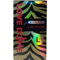 潤滑剤スタンダードタイプ!オカモト LOVE DOME(ラブドーム) タイガーコンドーム Lサイズ 12個入【2個セット】